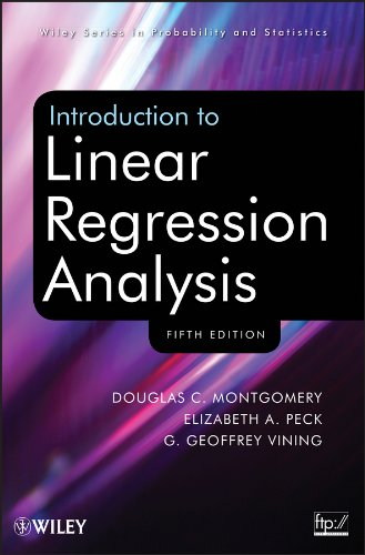 9781118780572: Introduction to Linear Regression Analysis, Fifth Edition Set