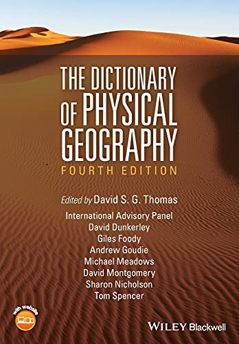 9781118782330: The Dictionary of Physical Geography