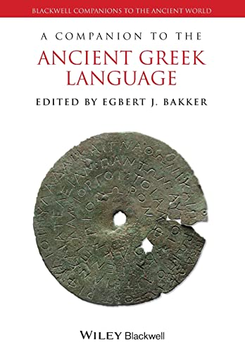 9781118782910: A Companion to the Ancient Greek Language