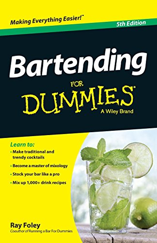 9781118791264: Bartending for Dummies, 5th Edition