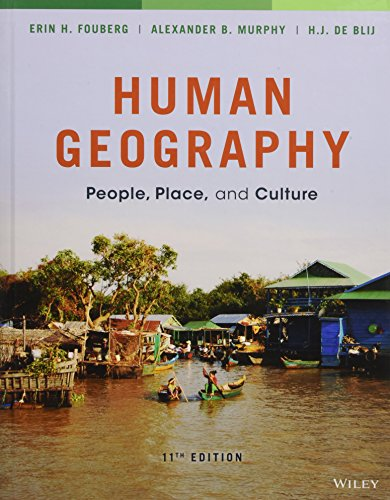Human Geography: Erin H. Fouberg,