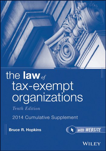 9781118797426: The Law of Tax-Exempt Organizations, 10th Edition 2014 Cumulative Supplement