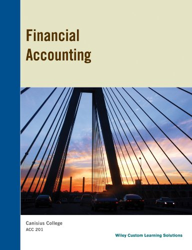 9781118798355: Financial Accounting - Canisius College ACC 201