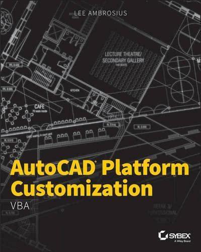 9781118798935: AutoCAD Platform Customization: VBA