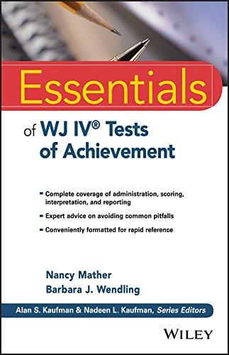 9781118799154: Essentials of WJ IV Tests of Achievement