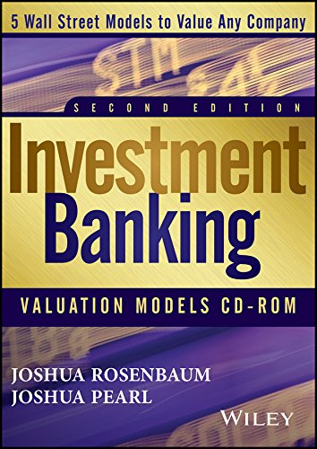 9781118806647: Investment Banking Valuation Models CD