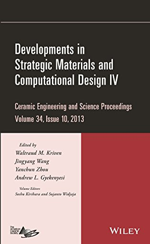Developments in Strategic Materials and Computational Design: Kriven, Waltraud M.,
