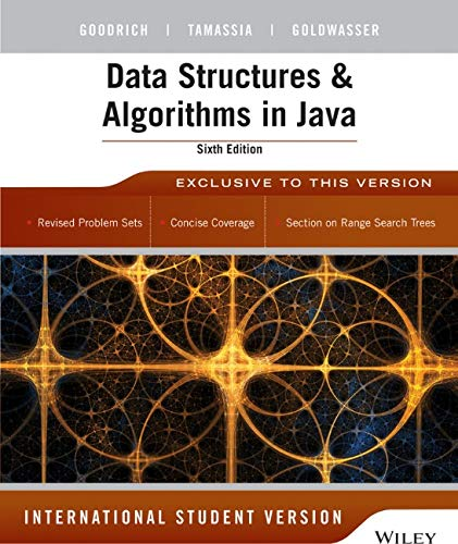 Data Structures and Algorithms in Java 6/e: Goodrich