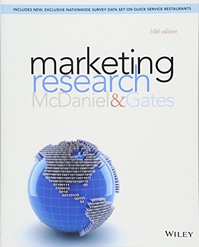 Prof carl mcdaniel abebooks marketing research tenth edition paperback prof carl mcdaniel fandeluxe Gallery