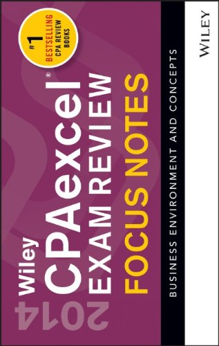 Wiley CPAexcel Exam Review 2014 Focus Notes: Wiley