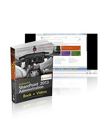 9781118819104: Professional SharePoint 2013 Administration Book and SharePoint-videos.com Bundle