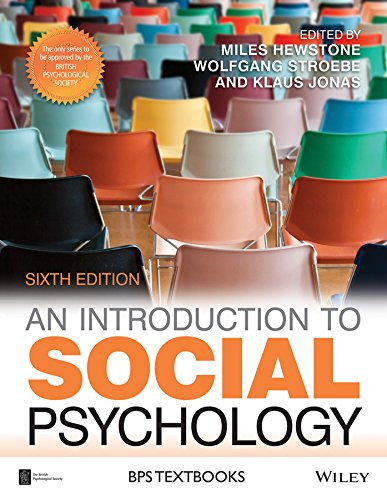 An Introduction to Social Psychology: Miles Hewstone (editor),