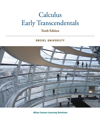 9781118827932: Calculus Early Transcendentals: Drexel University