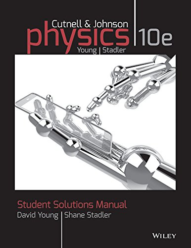 9781118836903: Student Solutions Manual to accompany Physics, 10e