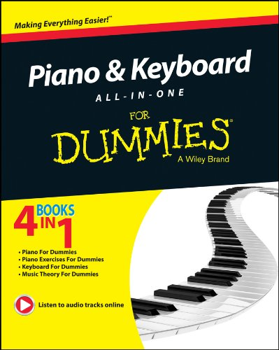 9781118837429: Piano and Keyboard All-in-One For Dummies (4 in 1)