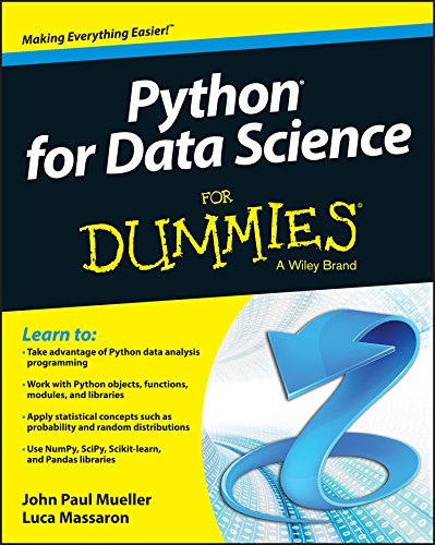 9781118844182: Python for Data Science For Dummies (For Dummies (Computers))
