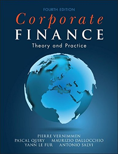Corporate Finance: Theory and Practice: Pierre Vernimmen