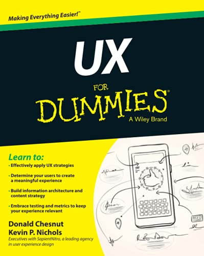9781118852781: UX For Dummies