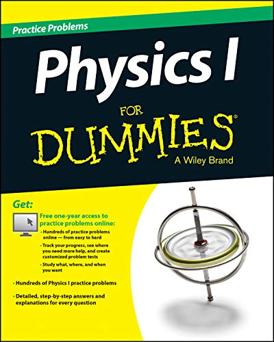 9781118853153: Physics 1 Practice Problems for Dummies