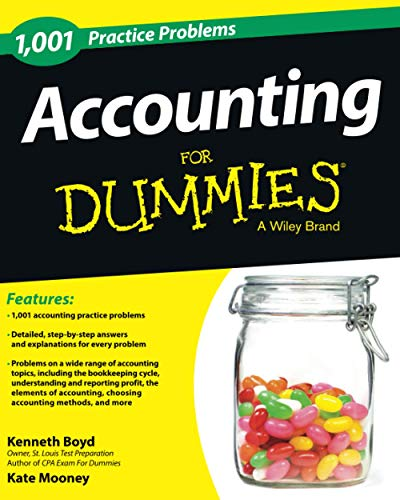 1,001 Accounting Practice Problems For Dummies: Boyd, Kenneth; Mooney, Kate