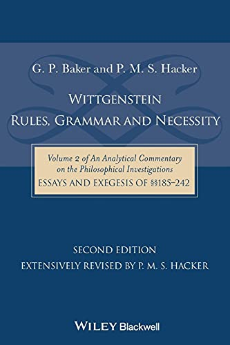 9781118854594: Wittgenstein 2e (An Analytical Commentary on the Philosophical Investigations)