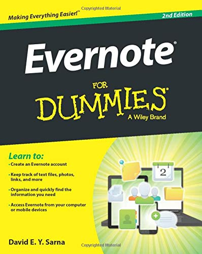 9781118855942: Evernote For Dummies