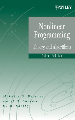 9781118857564: Nonlinear Programming: Theory and Algorithms