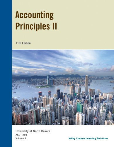9781118858813: Accounting Principles 2, University of North Dakota, ACCT 201, Volume 2 WITH 1 YEAR WILEY PLUS ACCESS CODE