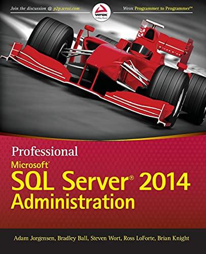 9781118859131: Professional Microsoft SQL Server 2014 Administration
