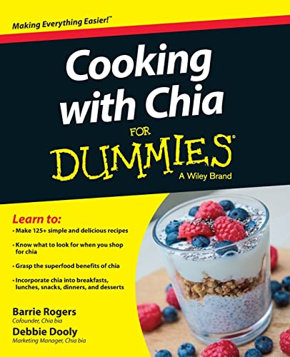 9781118867068: Cooking with Chia For Dummies
