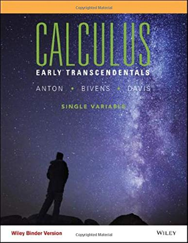 Calculus Early Transcendentals Single Variable Eleventh Edition: Howard Anton