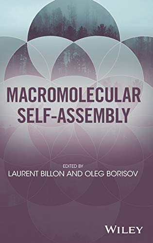 9781118887127: Macromolecular Self-Assembly
