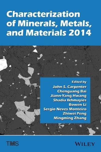9781118887868: Characterization of Minerals, Metals, and Materials 2014
