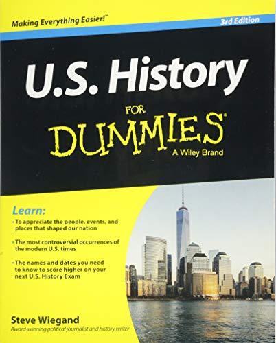9781118888988: U.S. History For Dummies