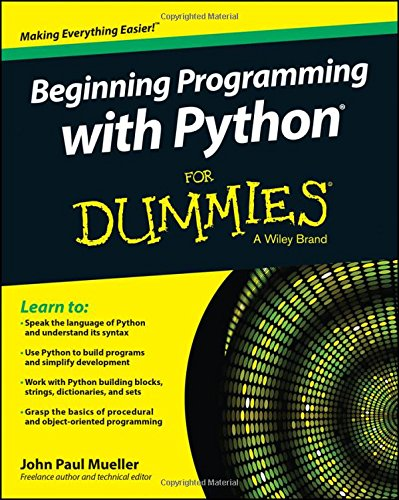 9781118891452: Beginning Programming with Python For Dummies