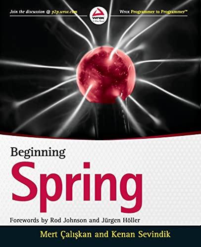 9781118892923: Beginning Spring