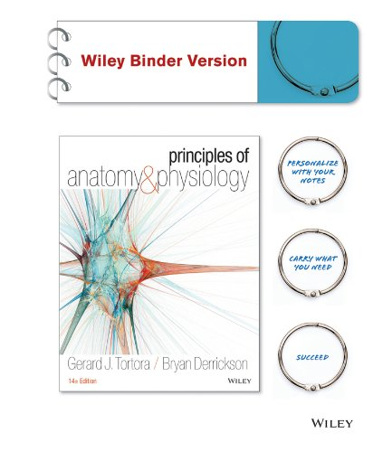 9781118909126: Principles of Anatomy and Physiology 14e Binder Ready Version + WileyPLUS Learning Space Registration Card