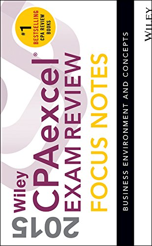 Wiley CPAexcel Exam Review 2015 Focus Notes: Wiley