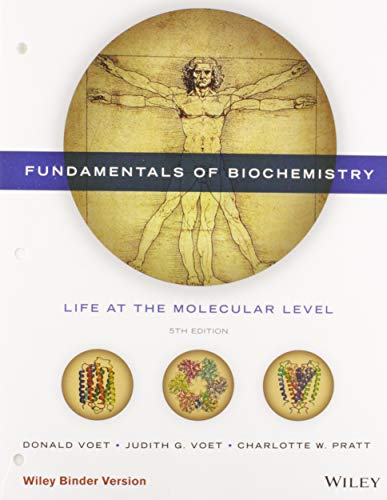 9781118918432: Fundamentals of Biochemistry, Binder Ready Version: Life at the Molecular Level