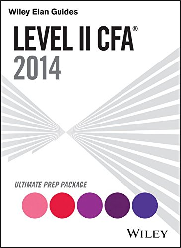 9781118920749: Wiley Elan Guides Level II Cfa Ultimate Prep Package