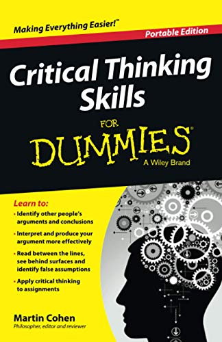 9781118924723: Critical Thinking Skills For Dummies