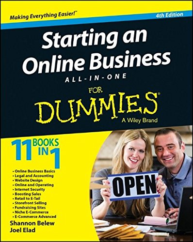 9781118926703: Starting an Online Business All-In-One for Dummies, 4th Edition (For Dummies All in One)