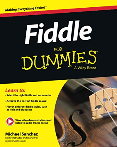 9781118930229: Fiddle for Dummies: Book + Online Video & Audio Instruction