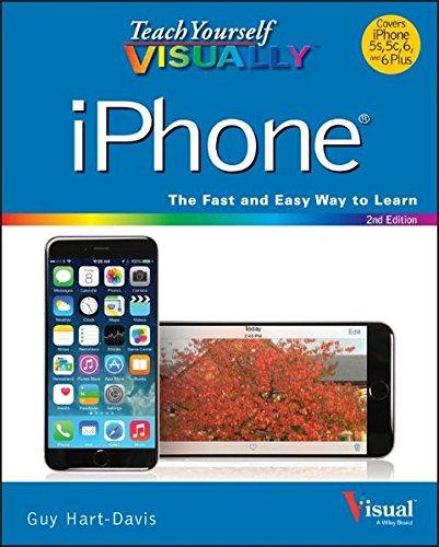 """Teach Yourself Visually iPhone (Teach Yourself VISUALLY: Hartâ€""""Davis, Guy"""