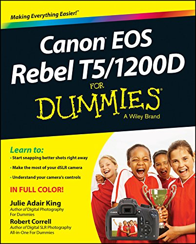 9781118933626: Canon Eos Rebel T5/1200D for Dummies (For Dummies Series)