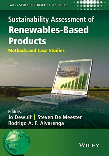 9781118933947: Sustainability Assessment of Renewables-Based Products: Methods and Case Studies (Wiley Series in Renewable Resource)