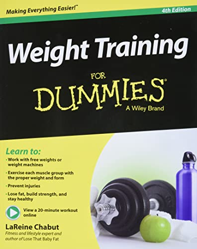 9781118940747: Weight Training For Dummies