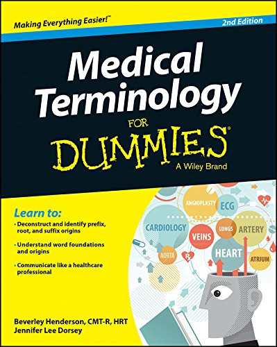 9781118944042: Medical Terminology For Dummies