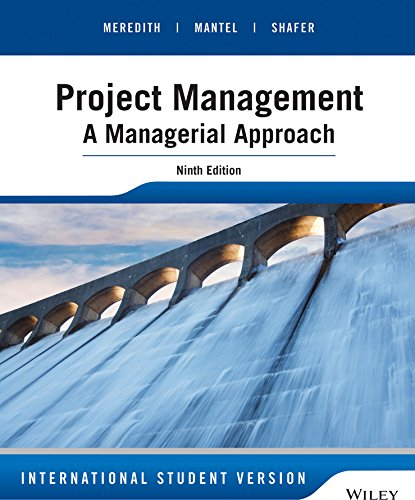9781118945834: Project Management: A Managerial Approach, Ninth Edition International Stud