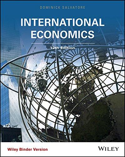 International Economics, Binder Ready Version: Distinguished Professor Dominick Salvatore